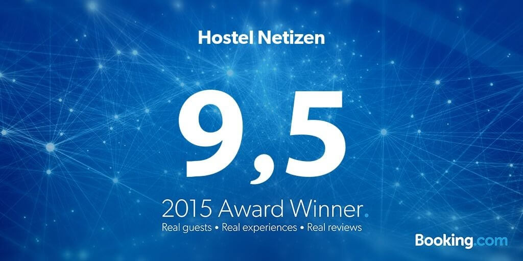 Guest Review Award by Booking.com